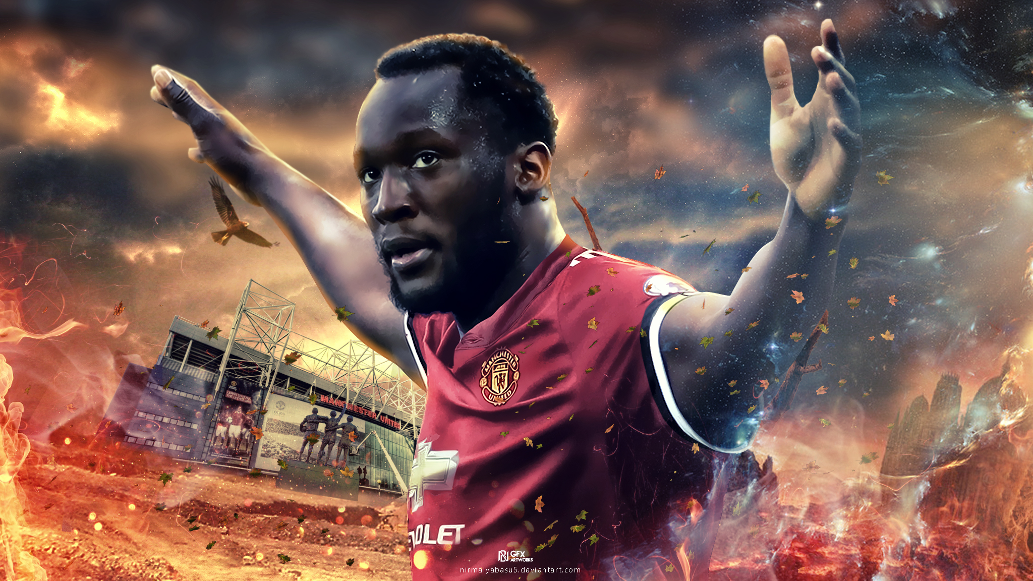 Romelu Lukaku : Welcome To Manchester United By
