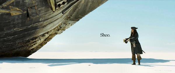 Shoo. -POTC- by paintmyface