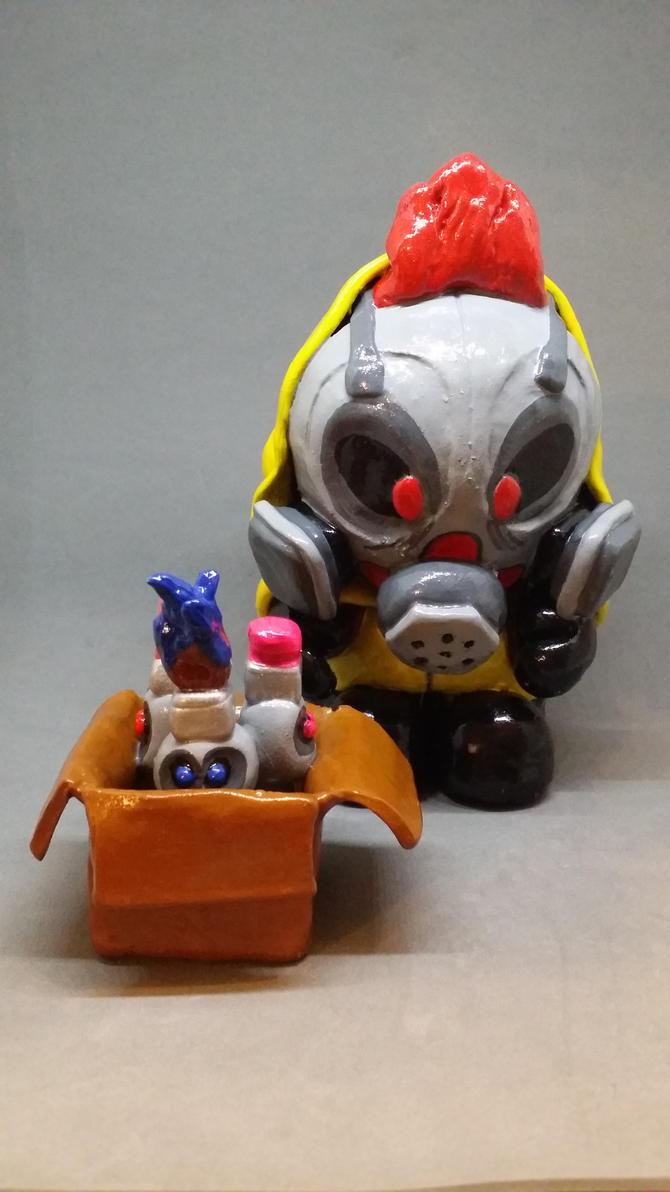 FusionBox Studios Mascot Nibs by MadHouseTrinkets