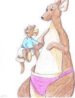 kanga and roo by timebaby3