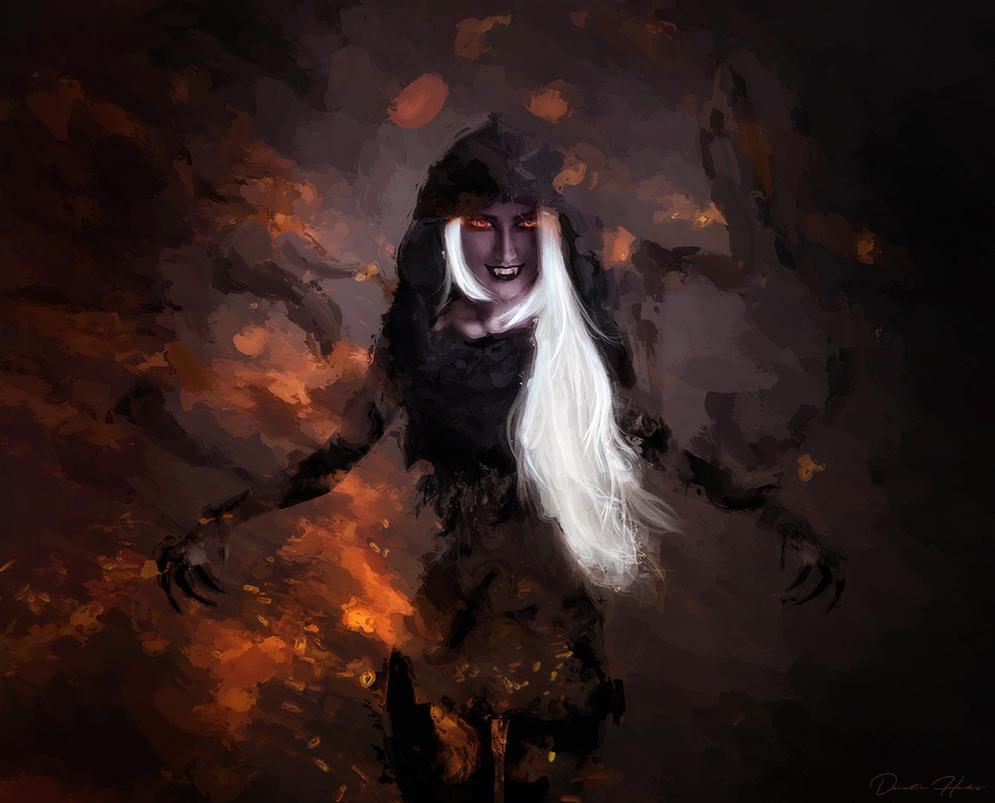 In the shadows by EL-LY