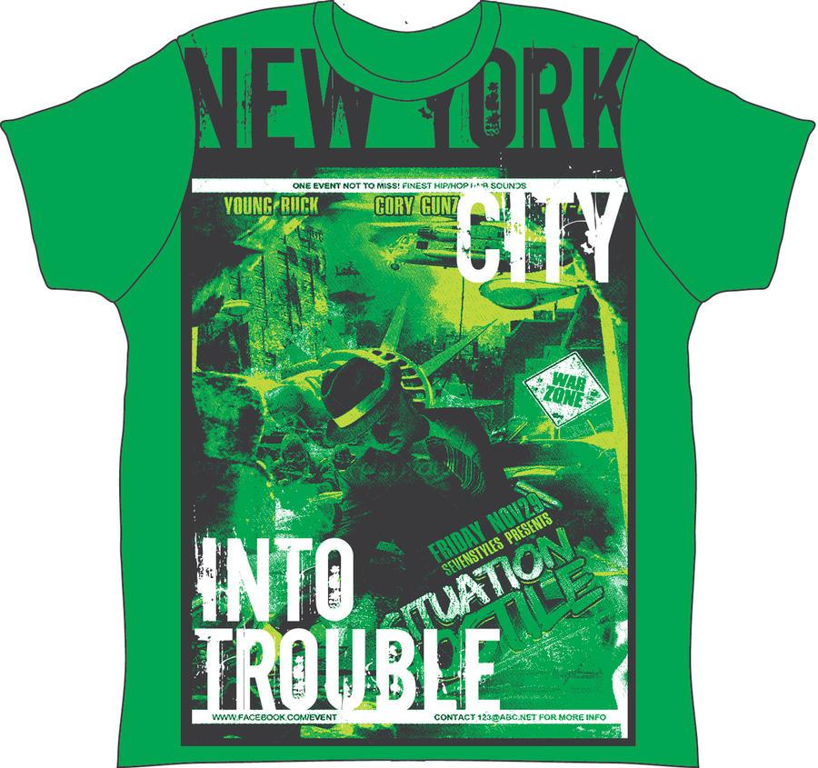 ERIK ROJAS T-SHIRT DESIGN TEEMAKERS NEW YORK by TEEMAKERS on ...