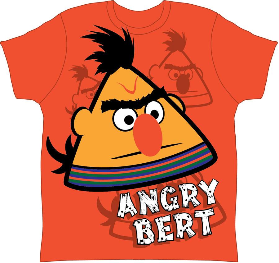 Angry Bert Sesame Street Hasshecom