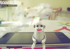 Sock Monkey by toastclay