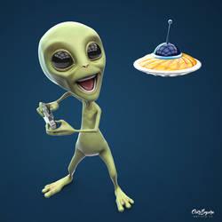 Alien by OskrSegura