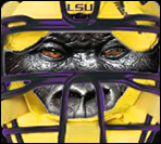 LSU Gorilla Ball Avatar by yurintroubl