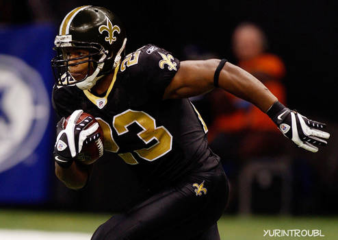 NFL Saints: All Black Uniform