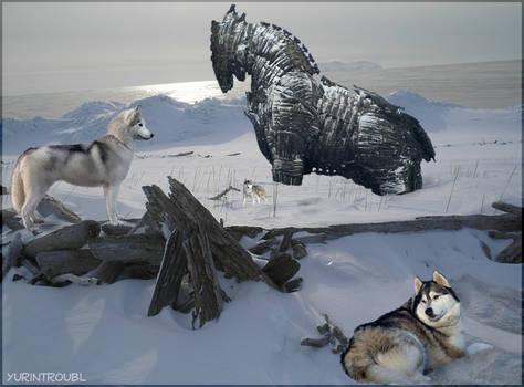Trojan Horse -The Husky Effect