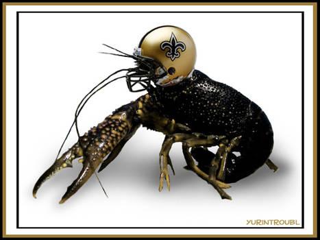 NFL Saints - Rally Crawfish