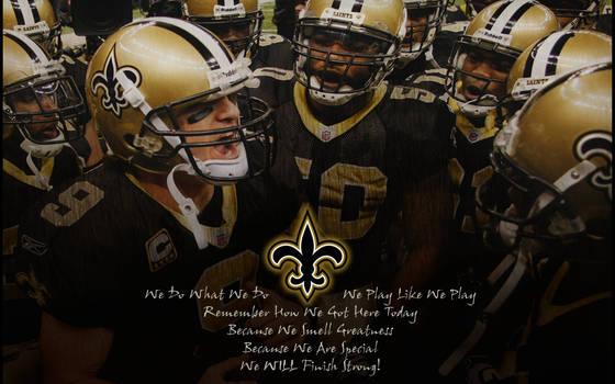 NFL Saints - Huddle Greatness