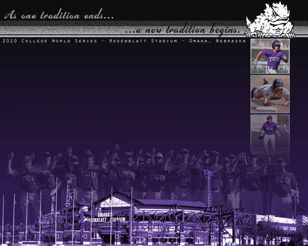 TCU Baseball: CWS Wallpaper