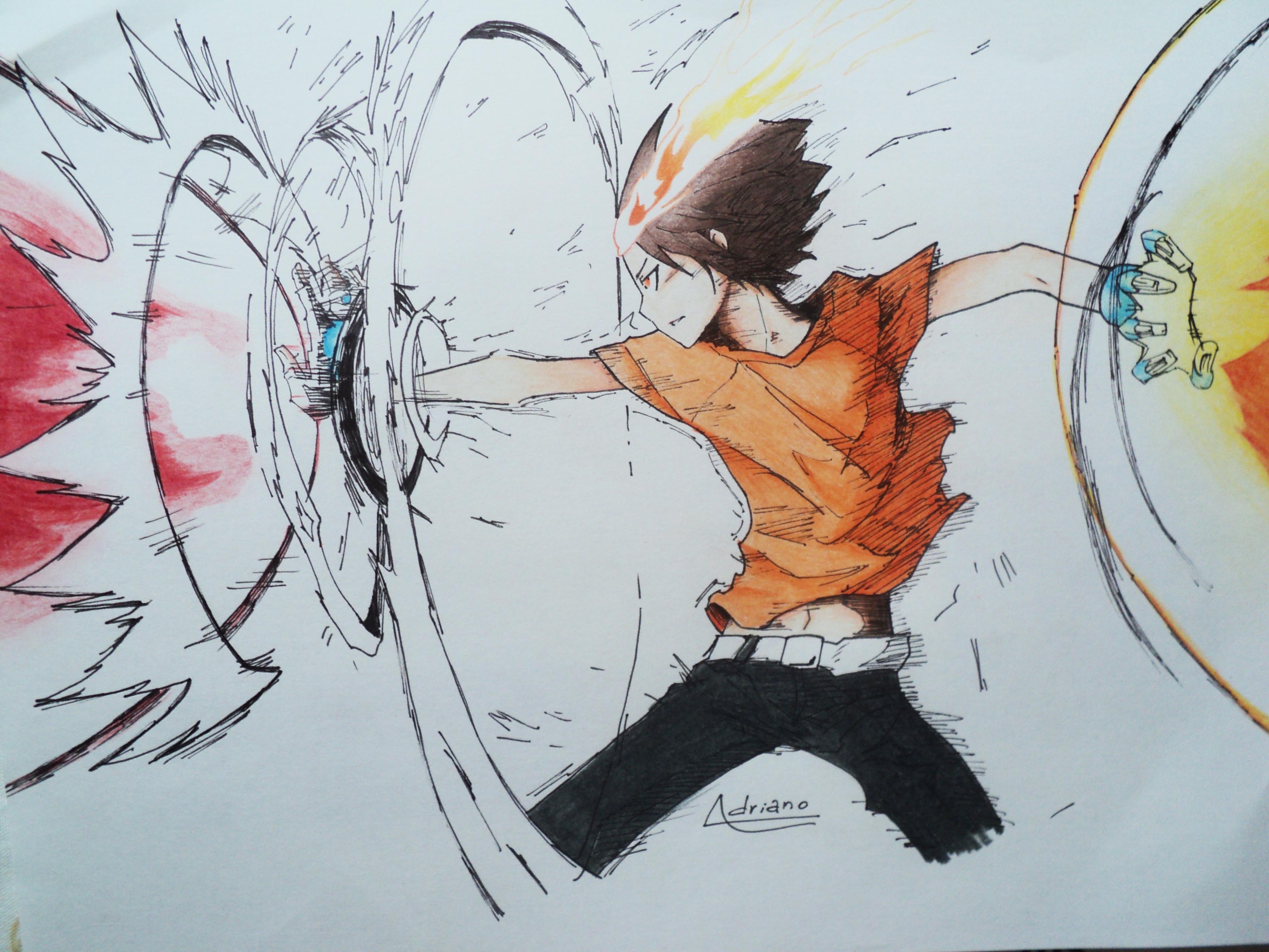 X Burner Tsuna By Adrianol Drawings On Deviantart