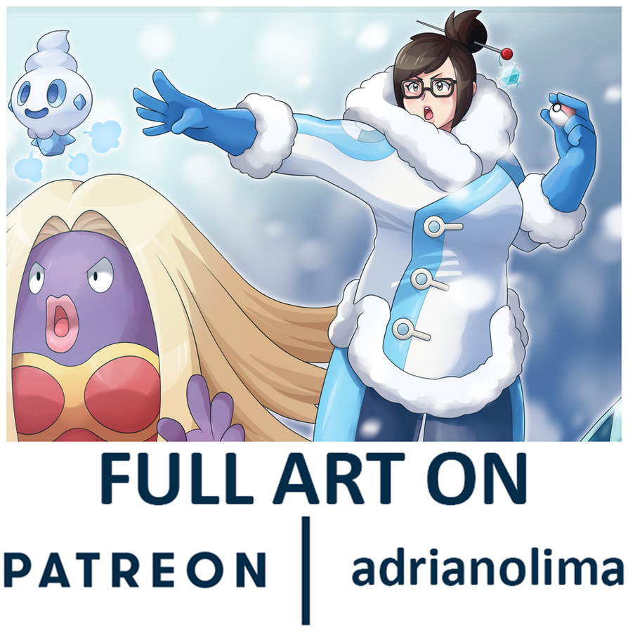 MEI and POKEMON by AdrianoL-Drawings