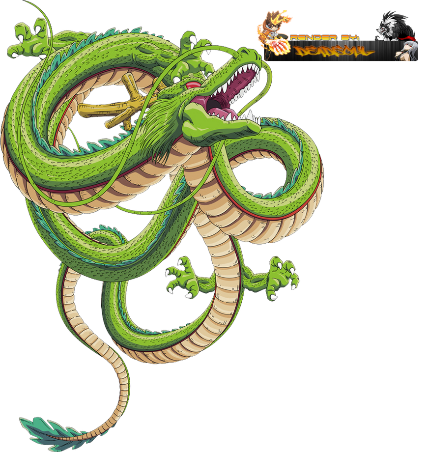 Character Design Dragon Ball Z : Dragon ball z shen long render by lordrender on deviantart