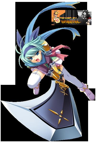 La Boîte Magique aux Rêves  Anime_girl_with_sword_render_by_lordrender-d5ok2tg