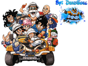 Dragon Ball Z Gang Render
