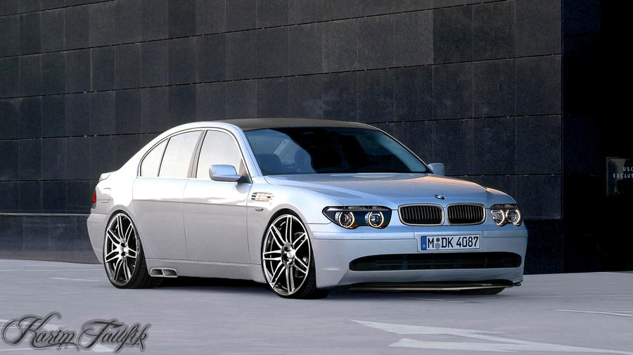 bmw 7 series e65 by k kkz on deviantart. Black Bedroom Furniture Sets. Home Design Ideas