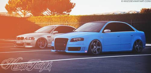 Audi RS4 - Bmw M3