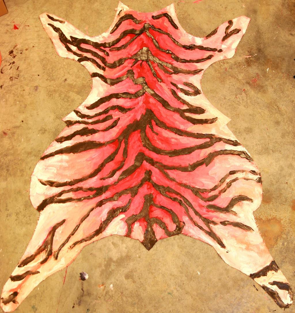 Tiger Skin Rug 1 By MaggieZee On DeviantArt