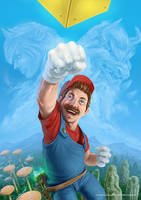 New Super Mario Bros by Aioras