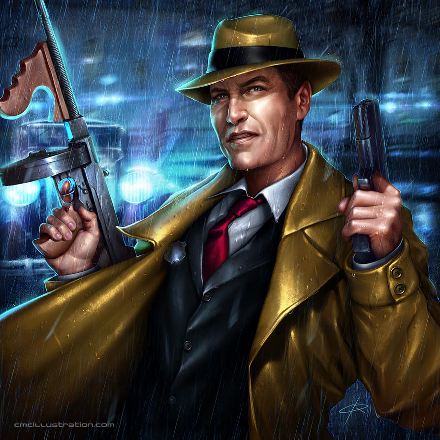 Dick Tracy Art 96