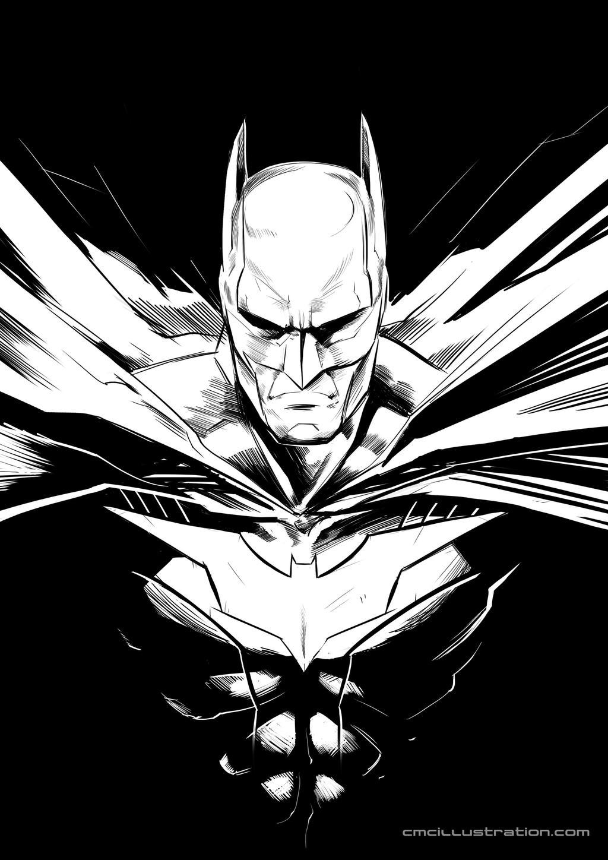 Batman Sketch by Aioras