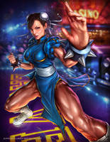 Chun Li - Capcom Fighting Tribute by Aioras