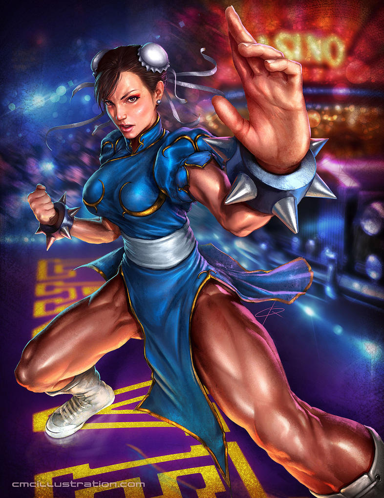 Chun Li - Capcom Fighting Tribute by Aioras