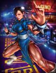 Chun Li - Capcom Fighting Tribute