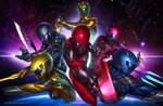 Power Rangers Neon