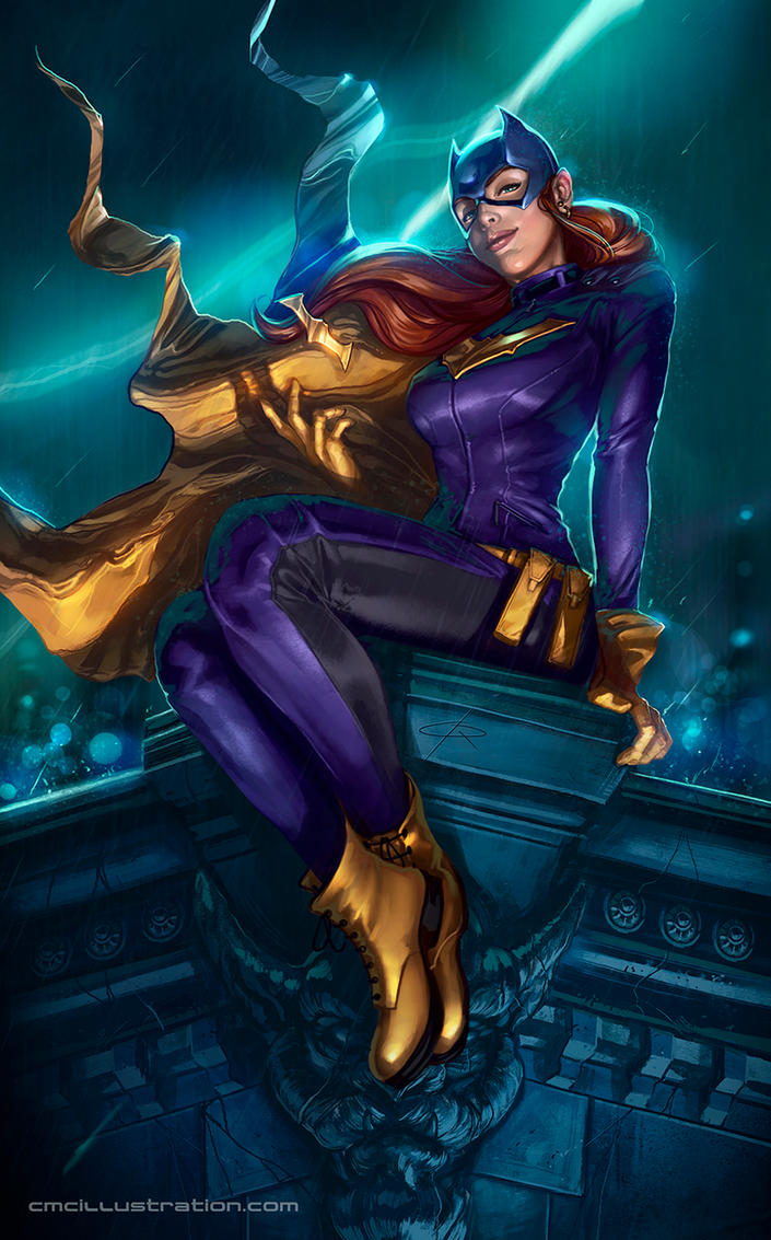 Batgirl owns the night by Aioras