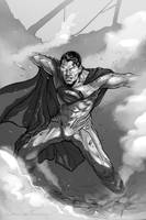 Man of steel Ink by Aioras