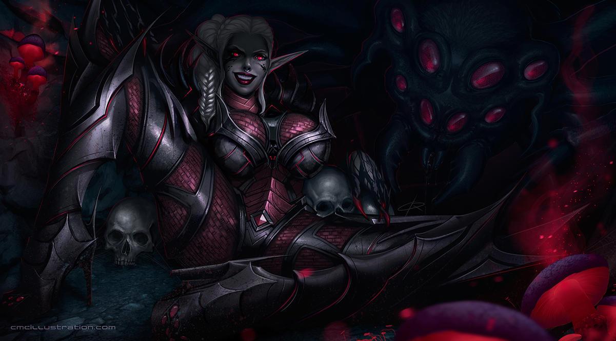 Alia SpiderWarrior by Aioras
