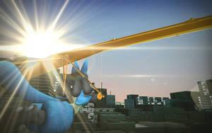 Flying Aura by Sergey004