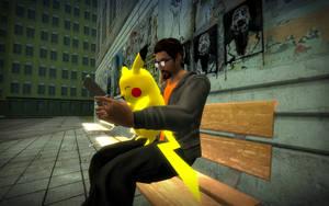 Pikachu I am In work here by Sergey004