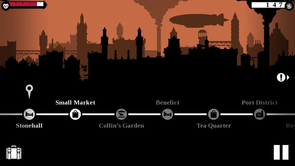 City map by chibisl2