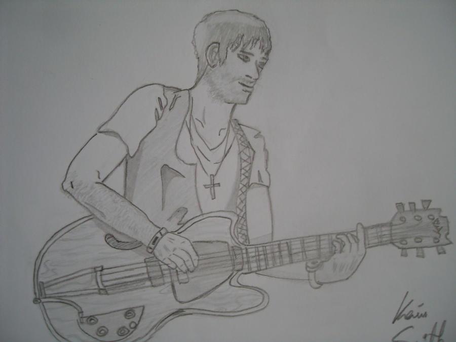 Guitarist by Dovahkev