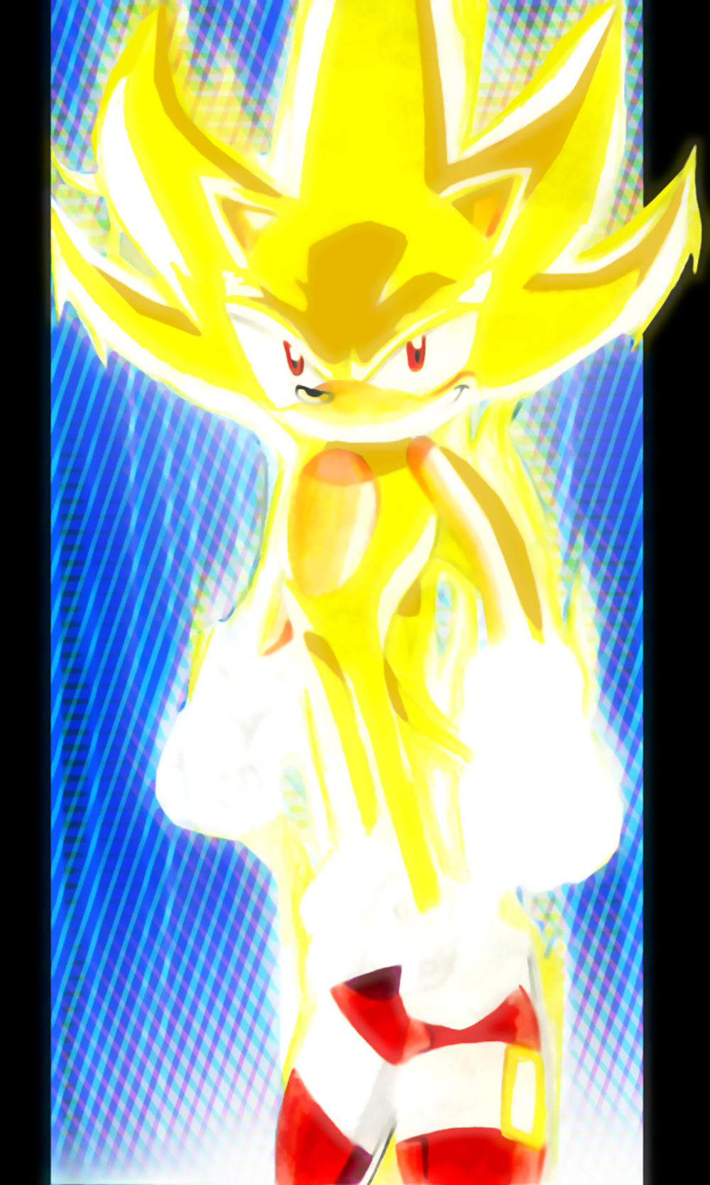 Super Sonic  Sonic X Style by SWIFTSONIC on DeviantArt