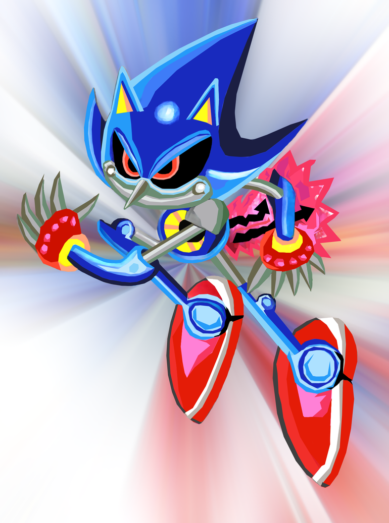 Metal Sonic by SWIFT-SONIC
