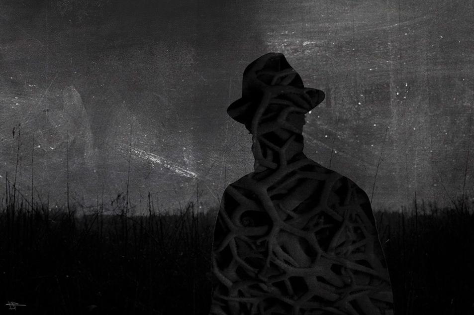 Midsummer selfportrait by dcf