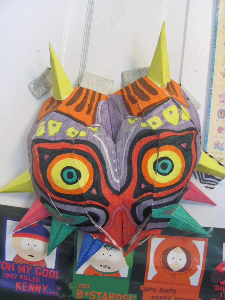 the legend of zelda majoras mask papercraft by verwonica