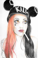 Ash Costello by KaiStoneArt