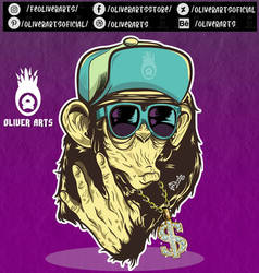 Pose and Hip Hop style.art vector by OliverArtsOficial