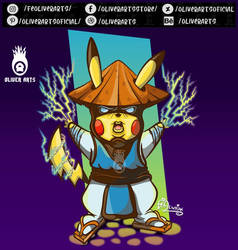 Will Pikachu's evolution with Raiden be RaiChu? by OliverArtsOficial