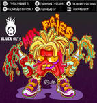 Angry fast food.Vector Art by OliverArtsOficial