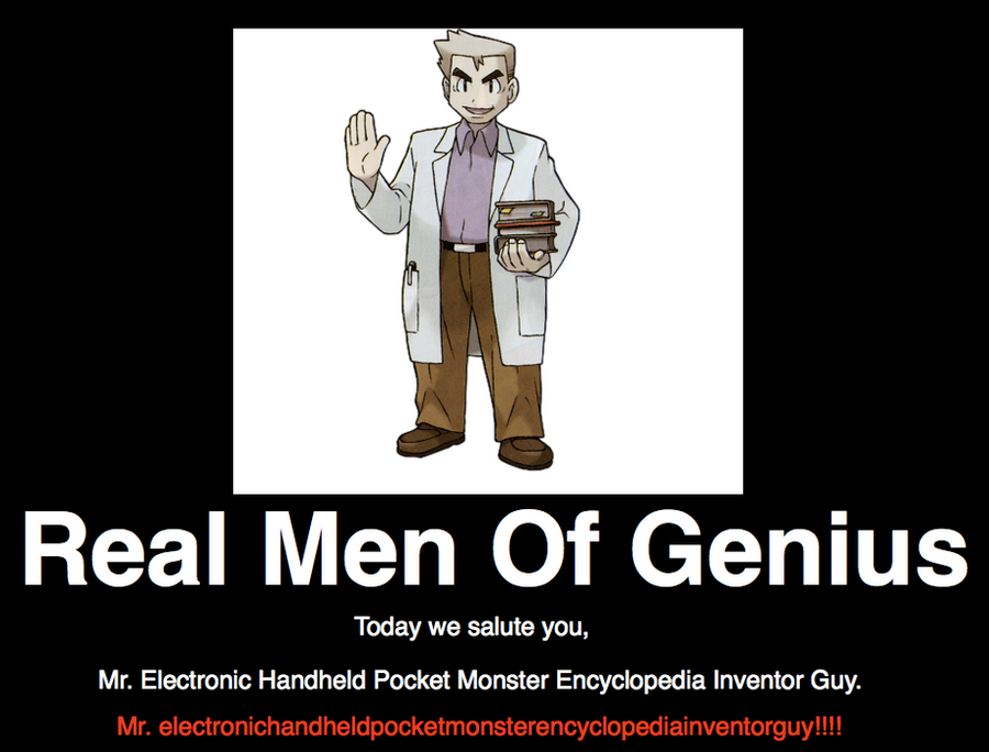 Real men of genius prof oak by loneclone on deviantart real men of genius prof aloadofball Gallery