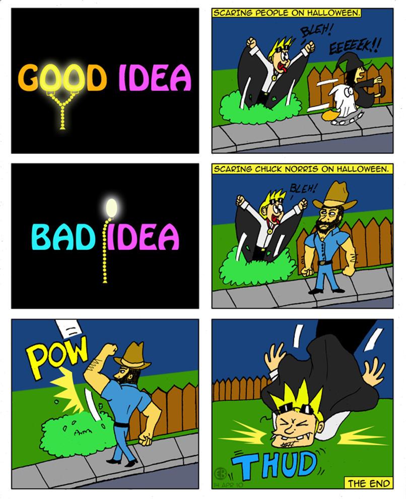 Good idea bad idea 2 by cartoon eric on deviantart for Bad idee