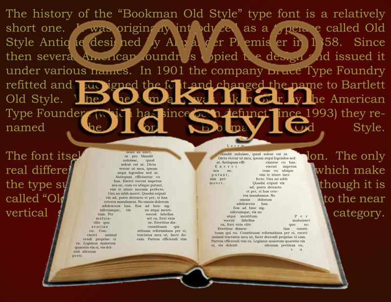 Bookman Old Style Theatre by Cartoon-Eric