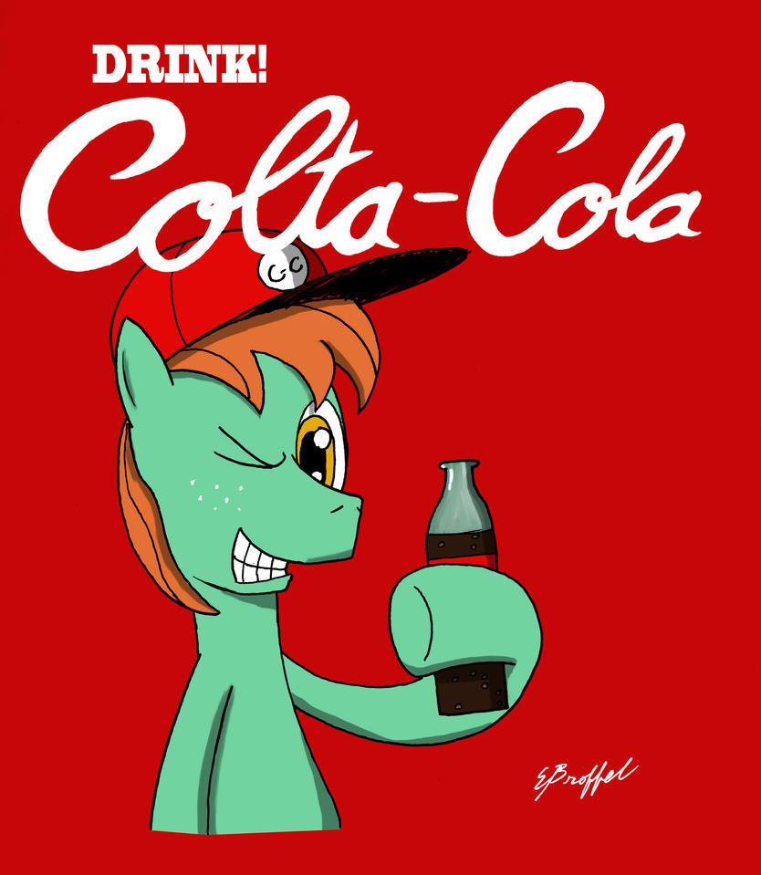 Drink Colta Cola by Cartoon-Eric