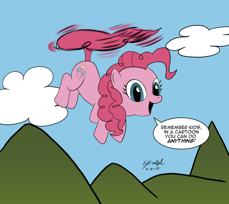 The Pinkie Copter by Cartoon-Eric